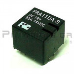 Relay Ucoil: 12VDC 20A 255R; double relay SPDT