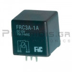 Relay Ucoil: 12VDC 70A  80R; SPST (NO) pcb