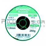 ΚΟΛΛΗΣΗ ΧΩΡΙΣ ΜΟΛΥΒΔΟ HF32  1.0mm  Fg.3.5% 250g