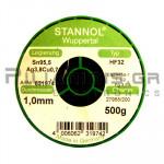 ΚΟΛΛΗΣΗ ΧΩΡΙΣ ΜΟΛΥΒΔΟ HF32  1.0mm  Fg.3.5% 500g