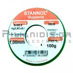 ΚΟΛΛΗΣΗ ΧΩΡΙΣ ΜΟΛΥΒΔΟ HS10  1.0mm  Fg.1.5% 100g