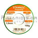 ΚΟΛΛΗΣΗ ΧΩΡΙΣ ΜΟΛΥΒΔΟ HS10  1.0mm  Fg.2.5% 100g