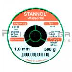 ΚΟΛΛΗΣΗ ΧΩΡΙΣ ΜΟΛΥΒΔΟ HS10  1.0mm  Fg.2.5% 500g