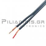 Prolink Audio cable 2x0.35mm black