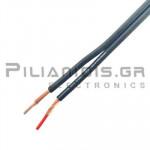 Prolink Audio cable 2x0.50mm black