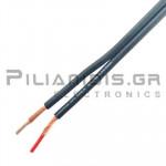 Prolink Audio cable 2x0.75mm black